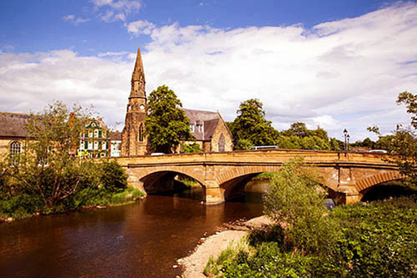 Northumbrian Hills is a short drive away from the market town of Morpeth